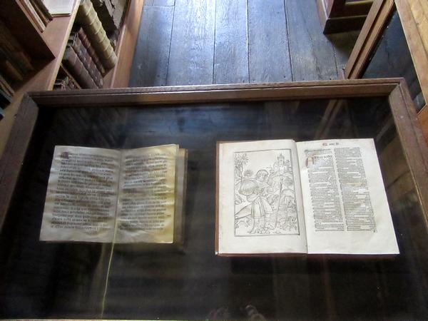 Le fonds ancien de la Bibliothèque Municipale de Châtillon sur Seine a pu être admiré lors des journées du Patrimoine