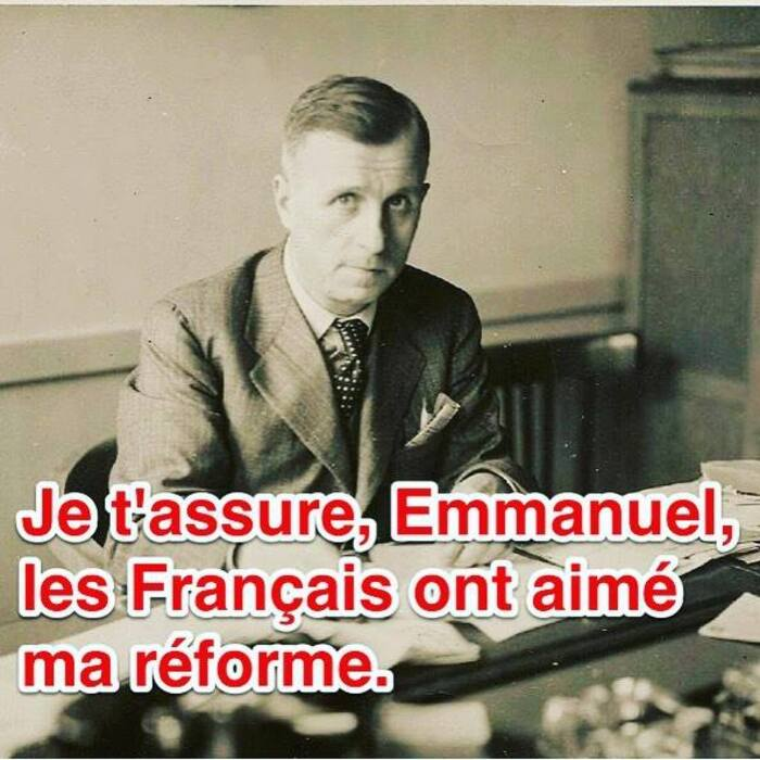 """Ambroise Croizat VS Emmanuel Macron  Ambroise Croizat, Ministre ouvrier vs Emmanuel  Macron, Président banquier  par """"info'Com CGT"""""""