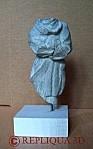 Statuette Sainte-Nitouche - Serge Huysmans: sculpteur sur pierre