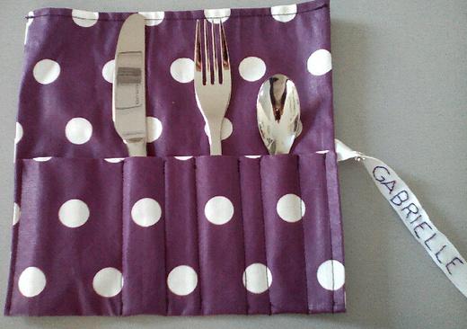 La couture de Clôd / Pochette porte couverts