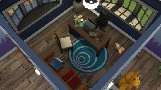 """Création Sims 4   """"Les Petits Lapins"""" (Café Poussette)"""