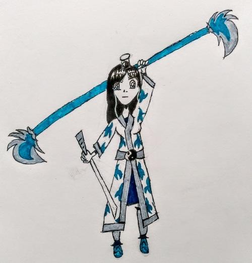 Fille ninja