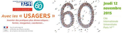 Les Actualités Sociales Hebdomadaires célèbrent leurs 60 ans autour d'un colloque le jeudi 12 novembre