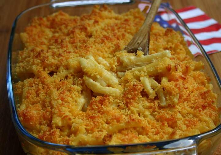 gratin de macaronnis au cheddar ...