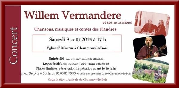 Un magnifique concert et une exposition prochainement à Chaumont le Bois