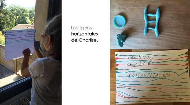 Les petits devoirs de Charlize...