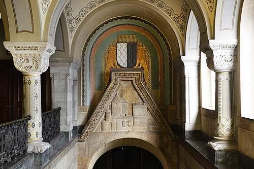 Les monuments néo-roman de Metz