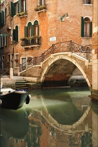 Un pont vénitien ...