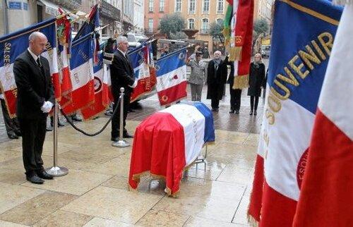 * Décès du colonel André SALVAT , Compagnon de la Libération,  Ancien de Bir Hakeim (BIM)