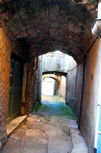 La rue des porches