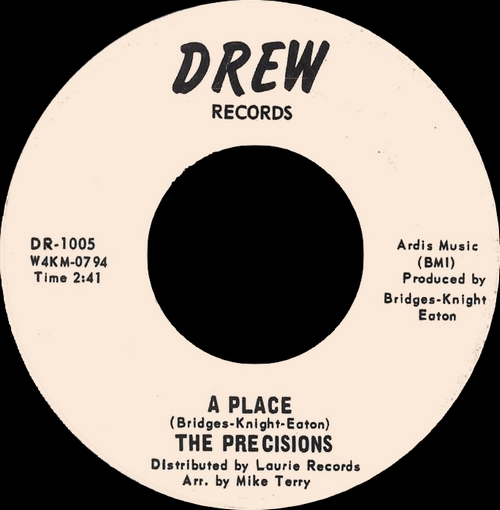 "The Precisions : CD "" If This Is Love 1964-1969 "" SB Records DP 145 [ FR ]"