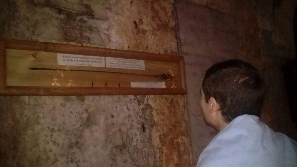 Nouvel ex-voto offert à Notre Dame de Rocamadour