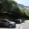 Retour à l'aire de stationnement du pont de Peyrelue