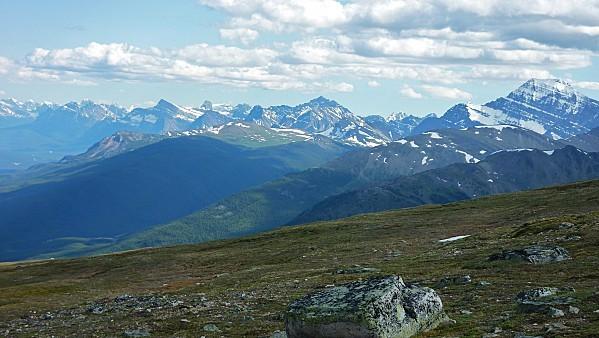 Jour 19 Jasper Tramway vue sur montagnes 2