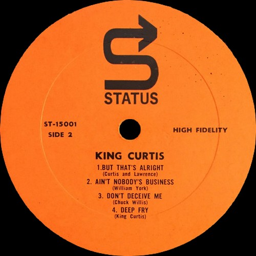 "King Curtis : Album "" Trouble In Mind "" Tru Sound Records 15001 [ US ]"