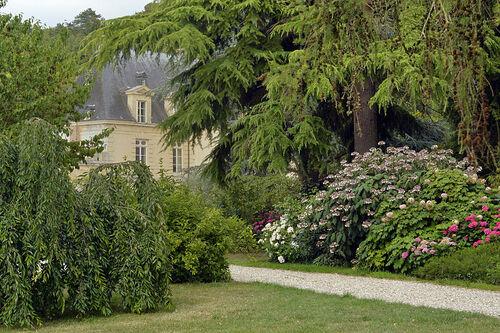 Parc et château d'Acquigny  (Eure)