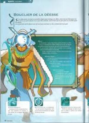 Petite description Bouclier de la déesse