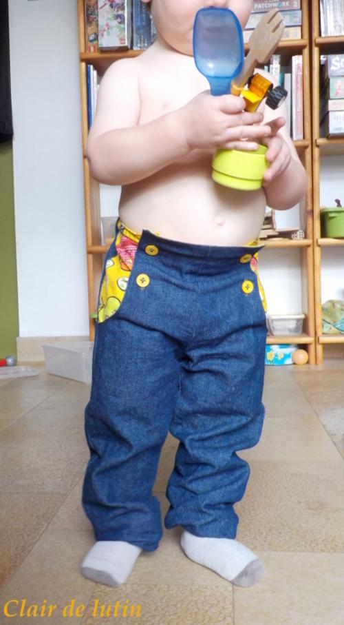 Un petit pantalon {Déstockage}