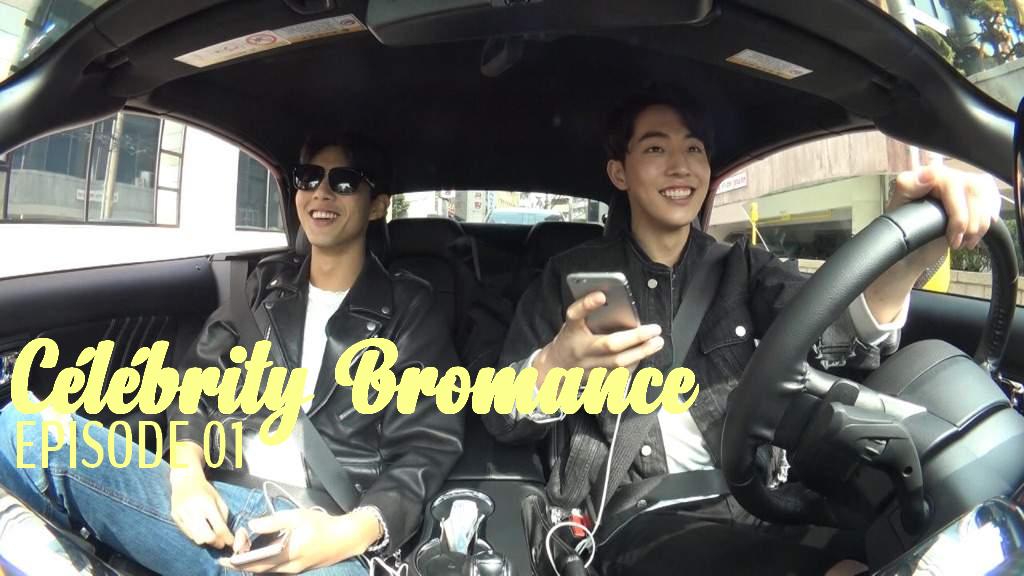Asian blo in car
