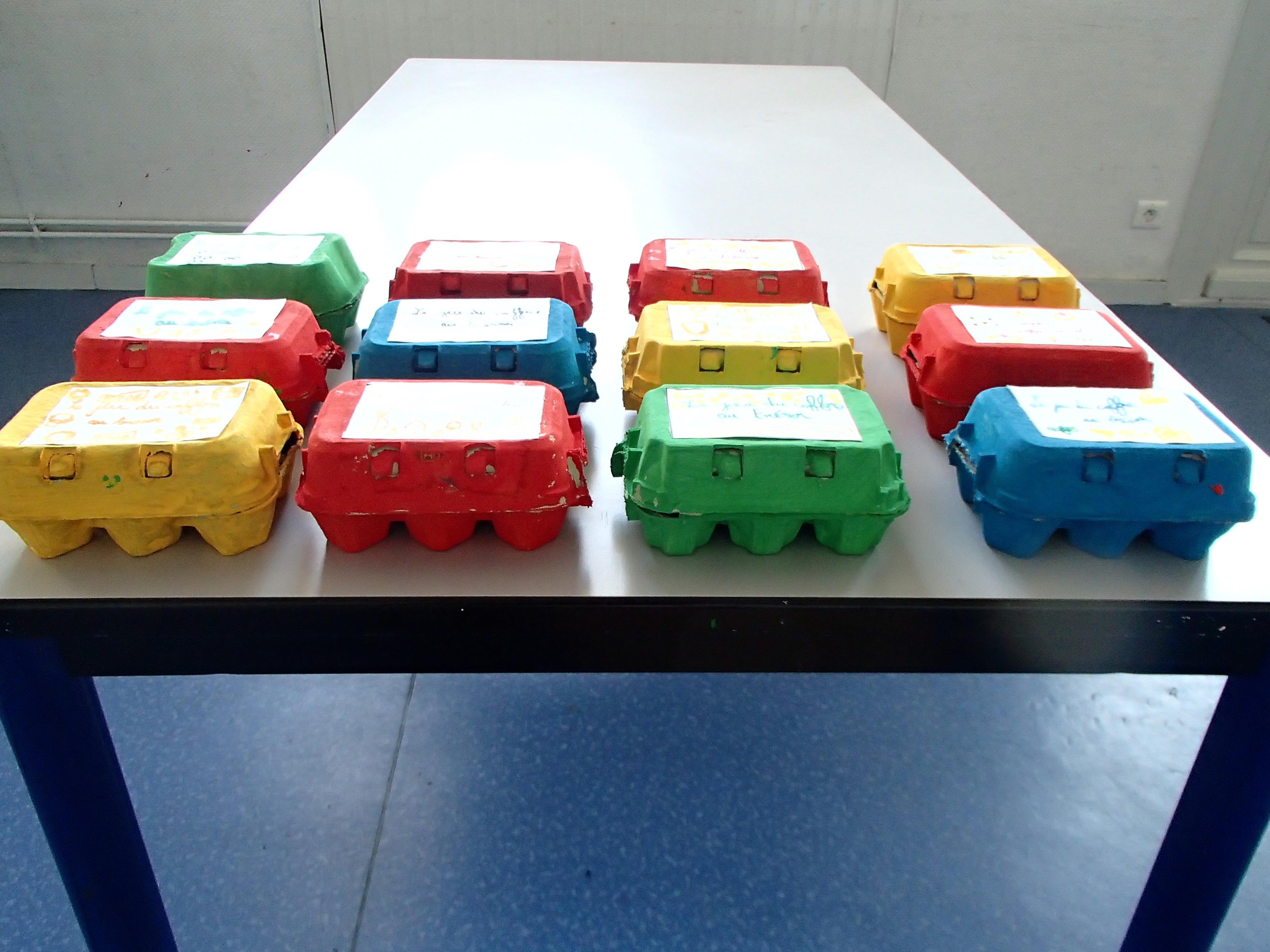 La fabrication du jeu du coffre au tr sor le blog des cp de l 39 cole deyries - Fabriquer une boite a lire ...