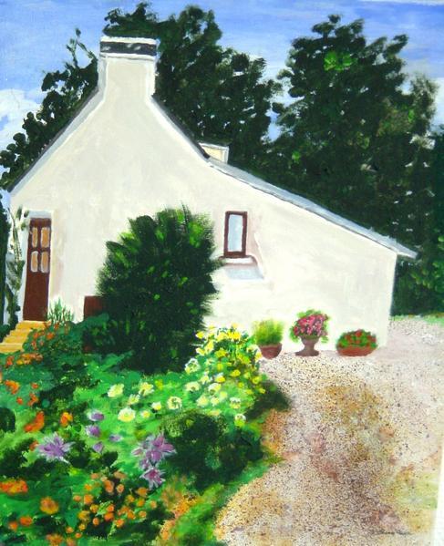 Blog de cathycolor : Artiste mal-voyante, Expasition de peinture en Bretagne, FOUESNANT, FINISTERE SUD. août 2007.