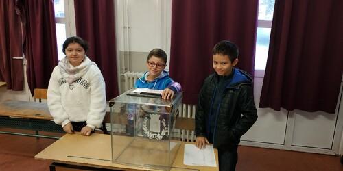 Elections des délégués de la classe de CM1C