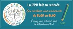 De blog en blog... une rentrée avec la CPB