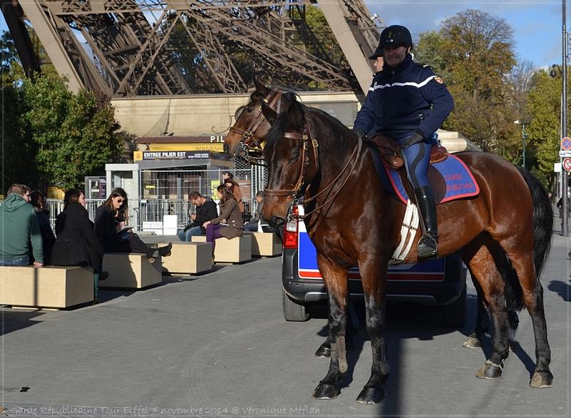 La Garde Républicaine : La sécurité publique à cheval