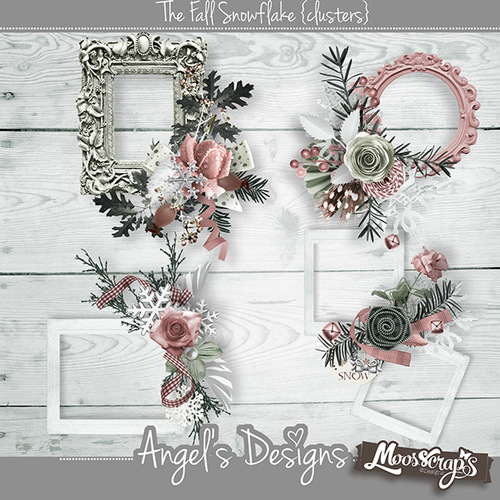 The Fall Snowflake by Angel's Design & Mooscrap