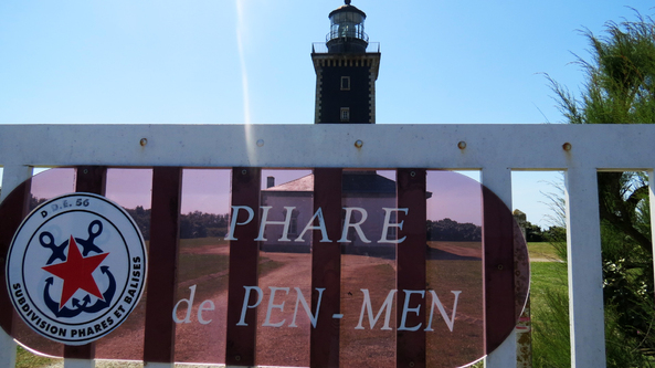 Escapade iodée à l'Île de Groix (Morbihan) - La pointe de Pen Men - Le phare de Pen Men