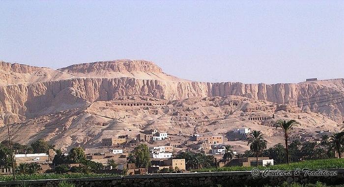 Temple d'Amenhotep III et vallée des rois
