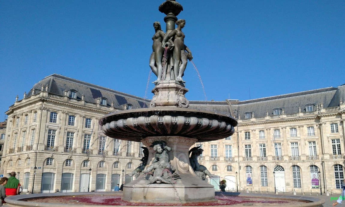 Fontaine à Bordeaux