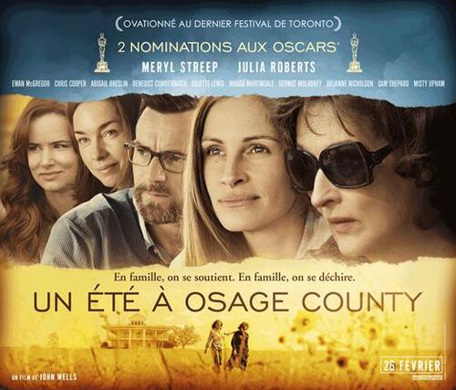 UN ETE A OSAGE COUNTY : Découvrez deux nouveaux extraits du film ! - LE 26 FÉVRIER 2014 AU CINÉMA.