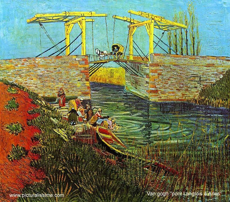 Van Gogh Pont Langlois à Arles