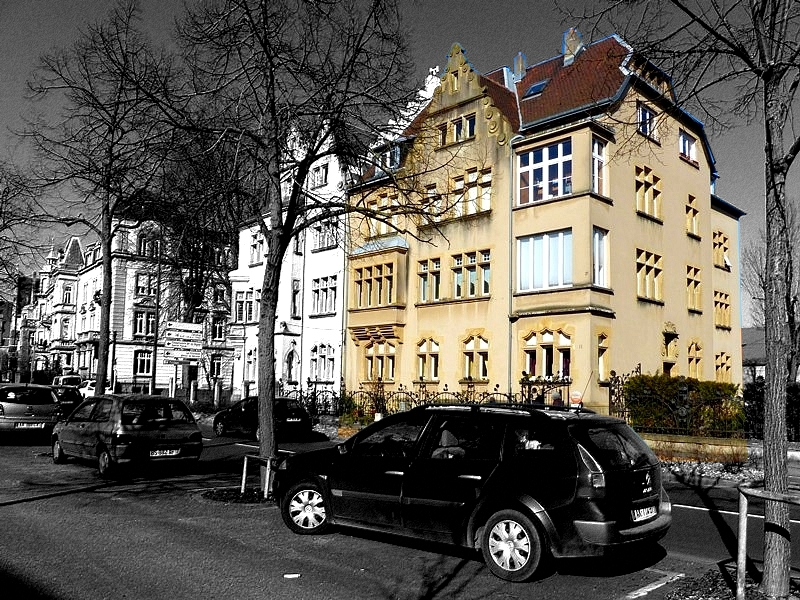 Metz / L'immeuble du 11 Boulevard Paixhans...