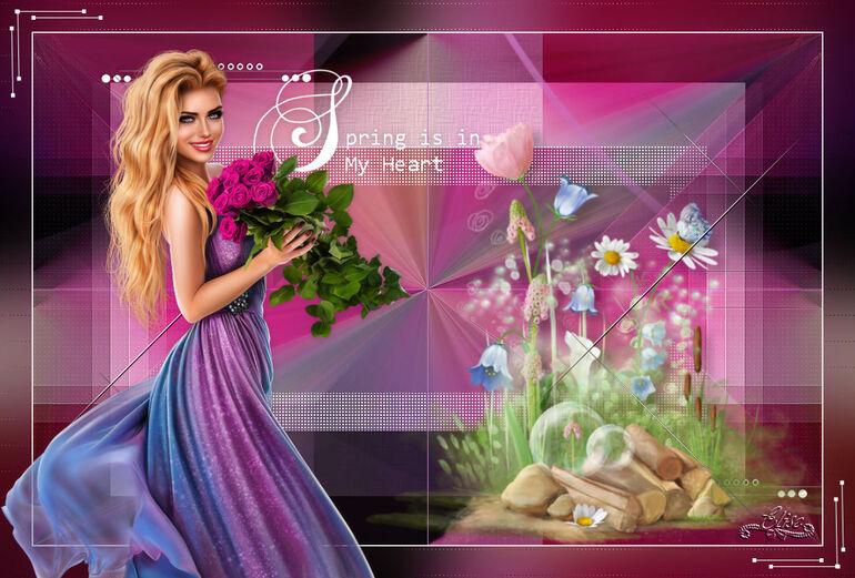 Spring is in my heart  de Belinda