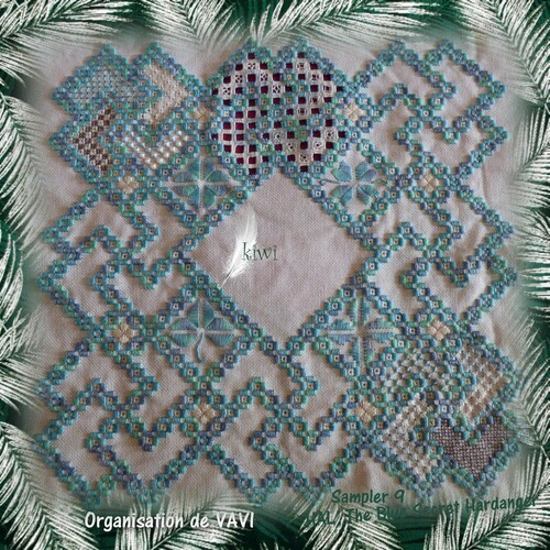 Hal :The Blue Secret Hardanger Sampler 8