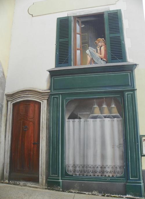 Fresques murales à Ambérieu-en-Bugey ( 2 )