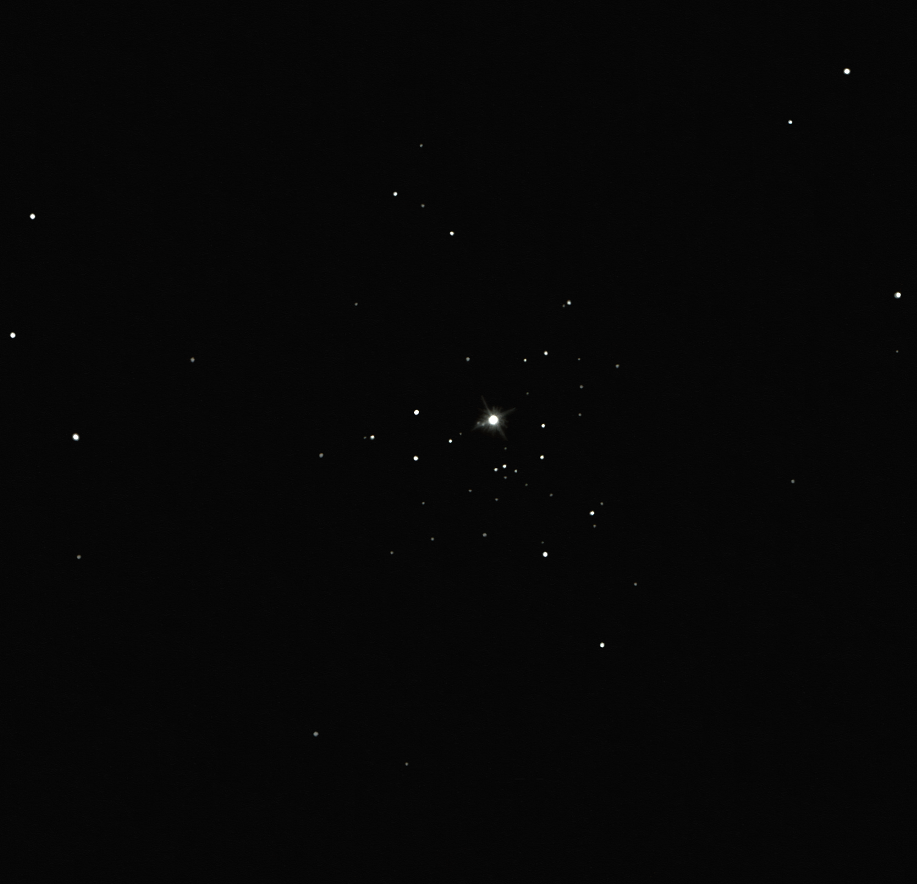 ngc 2362 open cluster