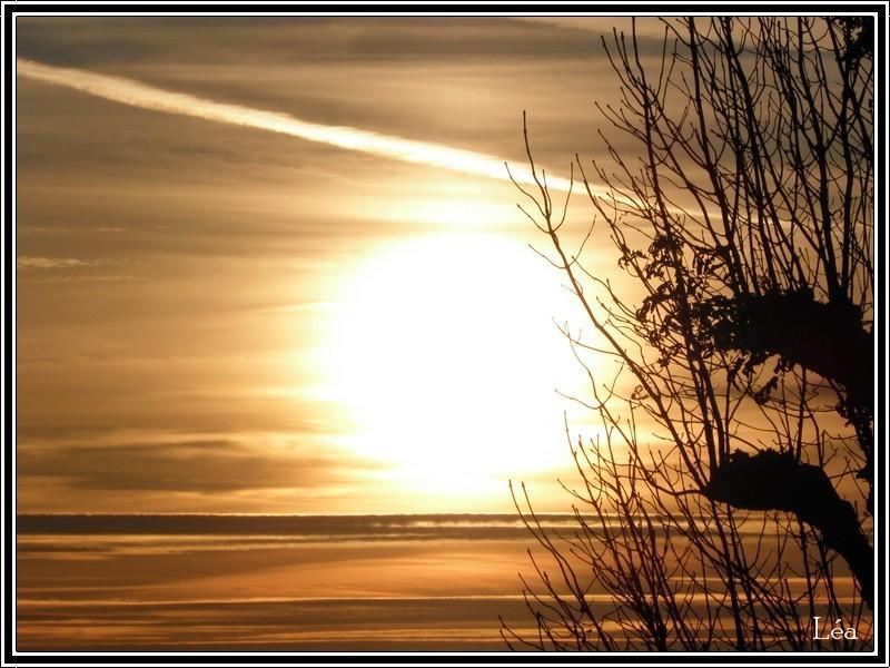 coucher de soleil 19 octobre 09