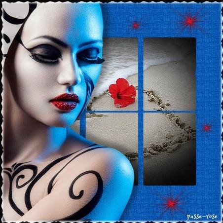 Les Créations de mon Ange Passe Rose