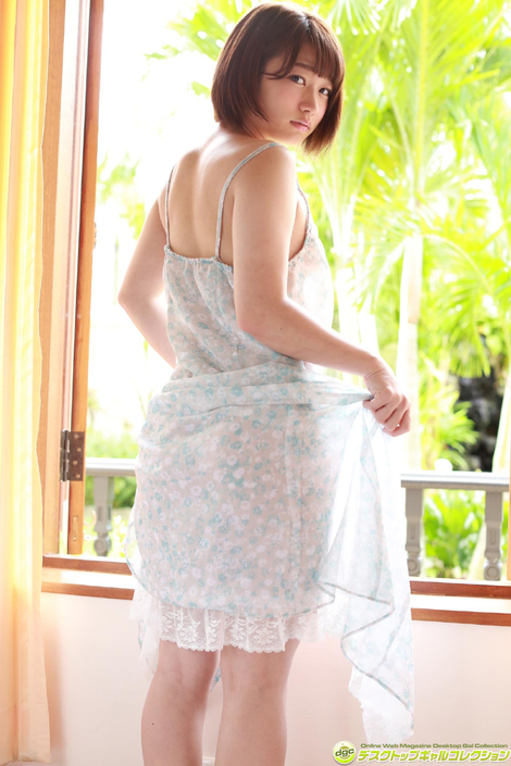WEB Gravure : ( [DGC] -   2017.06   Masako Saito/さいとう雅子 : 絶大な人気の理由はプリンプリンなお尻!! )