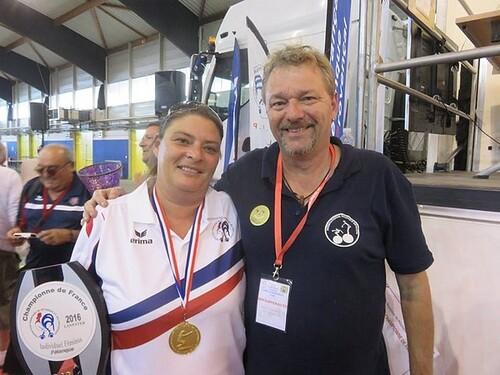 Championnat De France T à T Féminin et Doublette Masculin