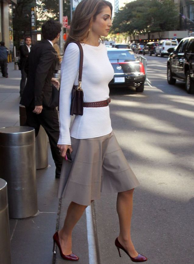 Rania à New York