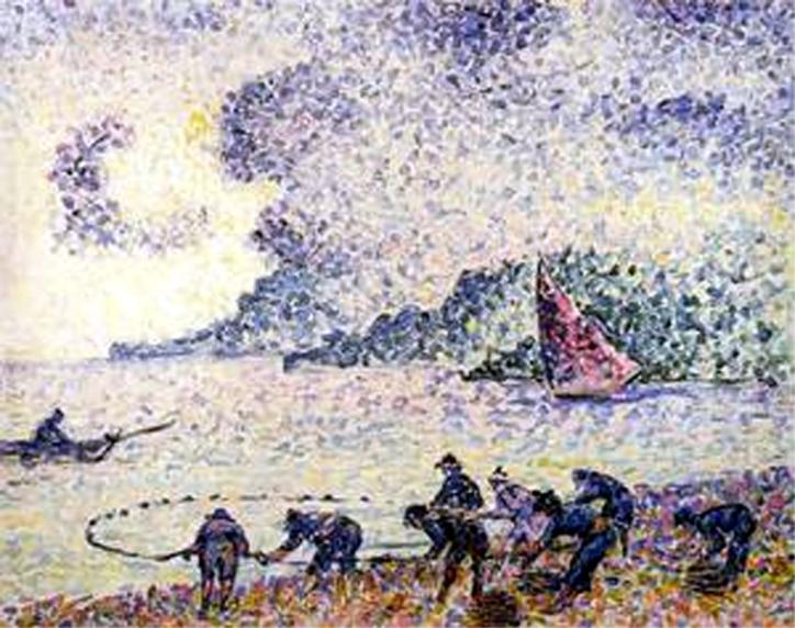 les Pêcheurs - 1895