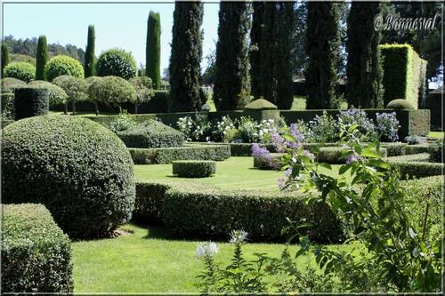 Les Jardins du Manoir d'Eyrignac l'harmonie du Jardin Français