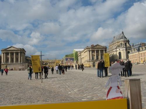 Clémence à Versailles
