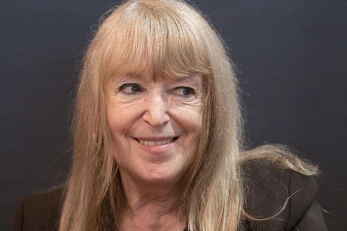 Dominique Grange chante contre le colonialisme israélien, pour Gaza, pour la Palestine...