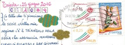 Une carte d'Italie, deux cartes d'Italie  et la joie !