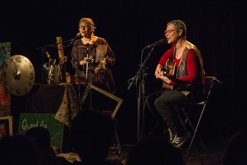 Catherine Fontaine et Marie au Centre culturel de Courbevoie (92) du 24 au 28 janvier 2017